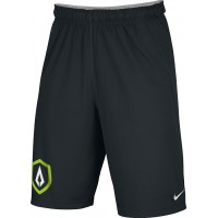 St. Stephen's Academy 28: Adult-Size - Nike Team Fly Athletic Shorts with Archer Arrowhead Logo - Black
